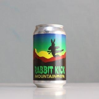 トゥーラビッツ ラビットキック マウンテンダブルIPA(TWO RABBITS Brewing RABBIT KICK Mountain IIPA)