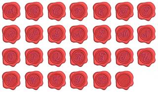 【刺繍データダウンロード】1-02 Siringstamp font