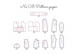 【刺繍データダウンロード】1-04 Pattern paper
