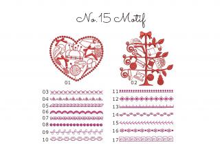 【刺繍データダウンロード】1-09 Motif