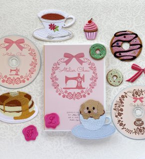 刺繍CDダウンロード版 Handmade machine embroidery designs
