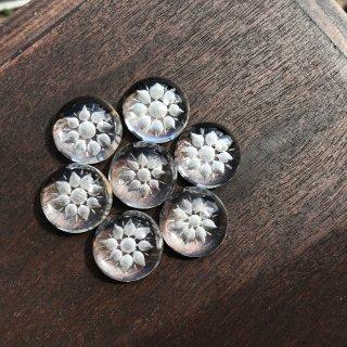 【カービング】066 水晶手彫りカービング小 (約16.5x16.5x7.5mm)
