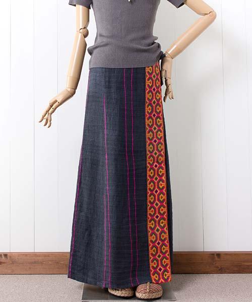 モン族ヘンプラップスカート