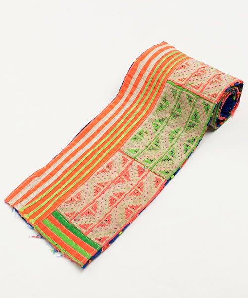 モン族刺繍古布/細長ベルト(72)