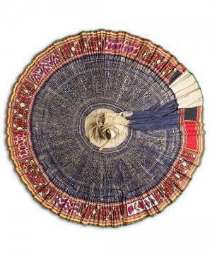 モン族民族衣装巻きスカート(2)