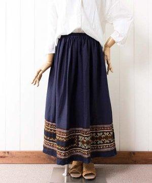 モン族刺繍ヘムスカート(2)