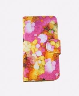 スマートフォンケース ピンク iPhone/スライド
