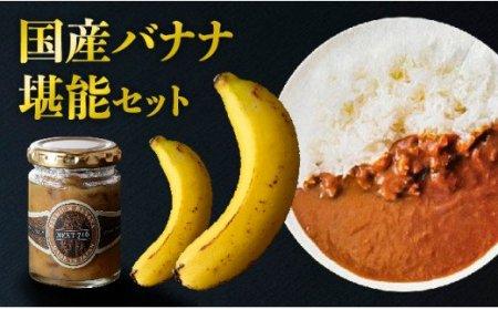 希少!国産バナナ堪能セット【小/2人前相当】