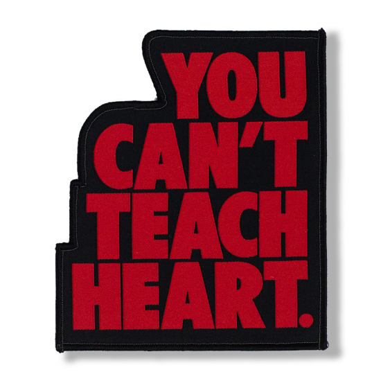 Black You Can't Teach Heart. Patch 〈Red YCTH〉