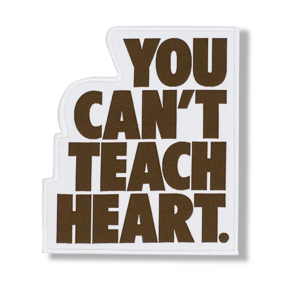 White You Can't Teach Heart. Patch 〈Brown YCTH〉