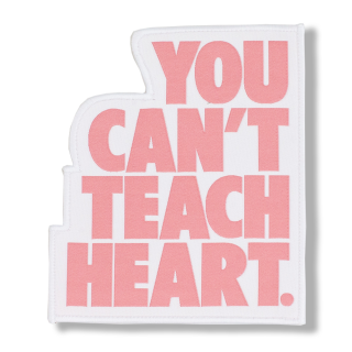 <img class='new_mark_img1' src='//img.shop-pro.jp/img/new/icons5.gif' style='border:none;display:inline;margin:0px;padding:0px;width:auto;' />White You Can't Teach Heart. Patch 〈Rose Quartz YCTH〉