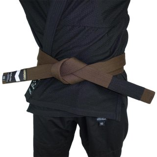 Premium Jiu Jitsu Belt〈Brown〉