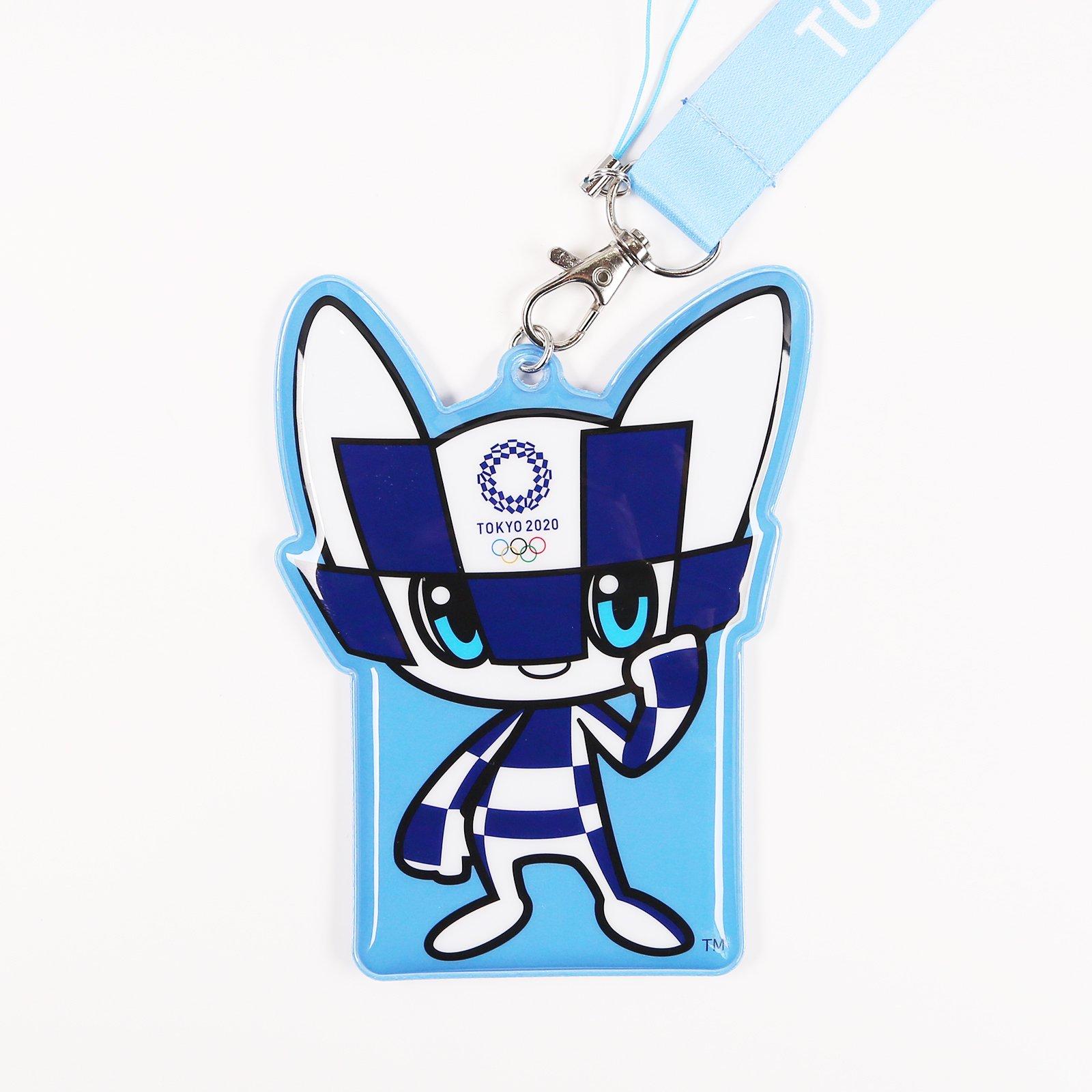 東京2020オリンピック/OCマスコットPVCパスケース付ネックST