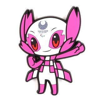 東京2020パラリンピックマスコットラバーマグネット(ダイカット)