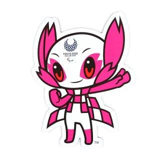 東京2020パラリンピック/PCマスコットマグネットシート(ダイカット)