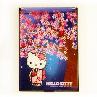 桜KTスタンドミラーS チラシ柄 夜桜