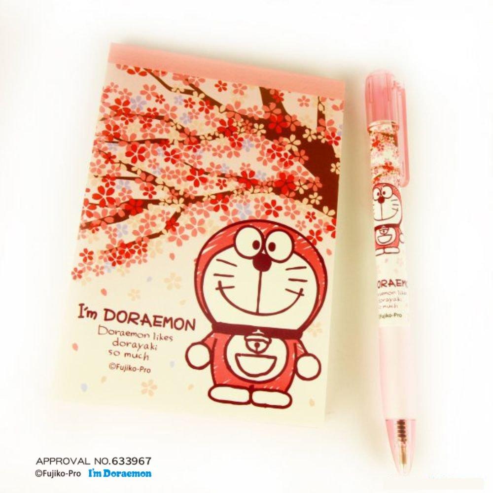 I'mDORAEMON桜 メモ帳セット