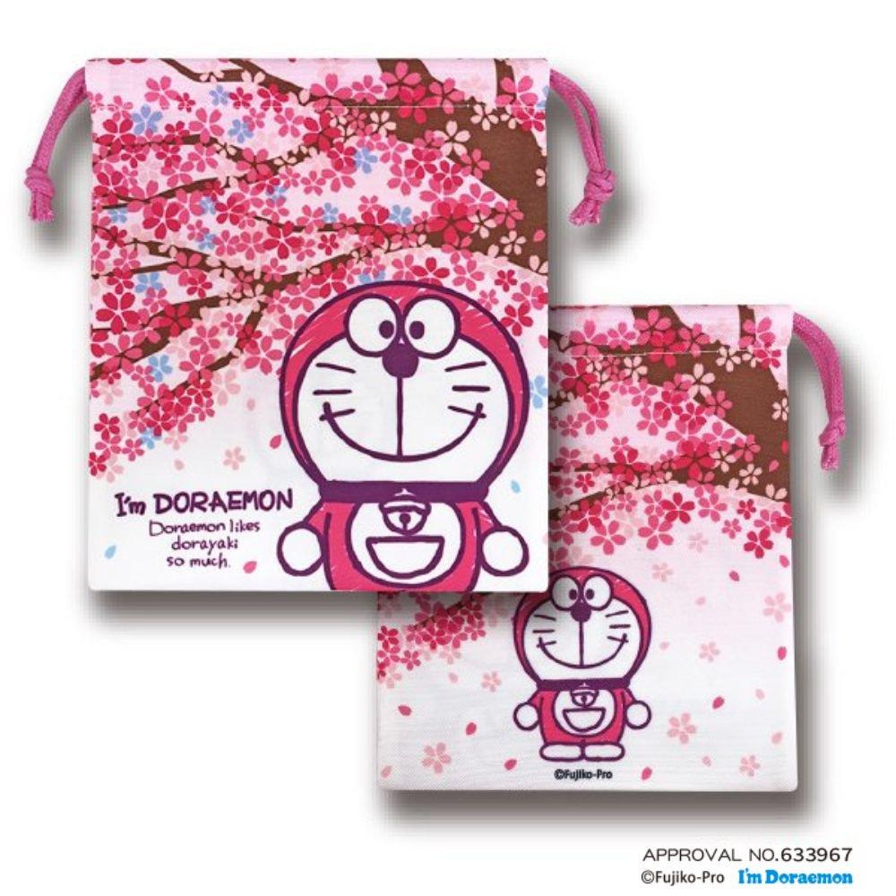 I'mDORAEMON桜 巾着・桜の木