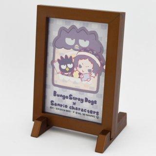 文豪ストレイドッグス×サンリオキャラクターズ・額縁マグネット(大)芥川龍之介