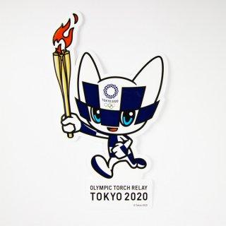 東京2020オリンピック聖火リレーマスコットダイカットステッカー