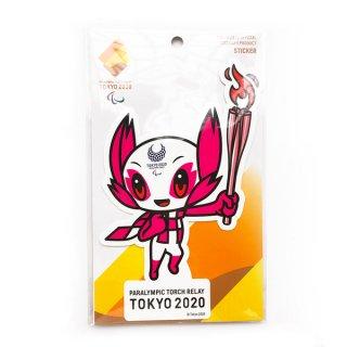 東京2020パラリンピック聖火リレーマスコットダイカットステッカー