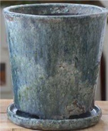 陶器 ブルー