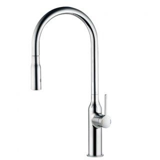 KW0261002R キッチン用湯水混合栓(スパウト引出しタイプ)