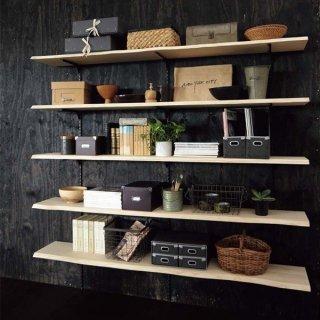 無垢の木の収納 ミミ付き棚板プラン MT-002
