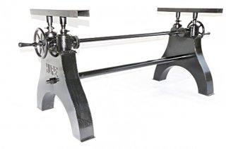 Hure Crank Table Base(Black)