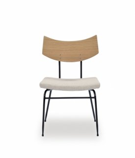SOLI CHAIR /RAW OAK BEIGE FABRIC