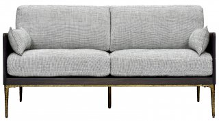 KULU SOFA 2P SEARED OAK BRONZE HOPE 11 PEPPER