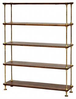 OLLO SHELF 5 LAYERS SEARED OAK BRONZE