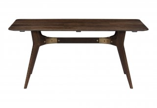 KIRI DINING TABLE / SEARED OAK BRONZE