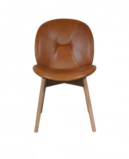 PACHA CHAIR TAN LEATHER
