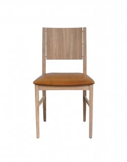 ESKA CHAIR TAN LEATHER
