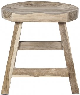 KING STOOL NATURAL