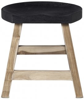 KING STOOL BLACK