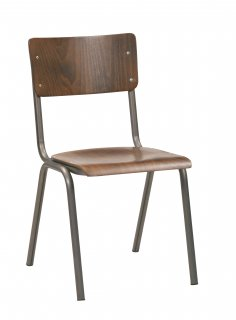 SUSY CHAIR / BEECH STAINNED DARK WALNUT