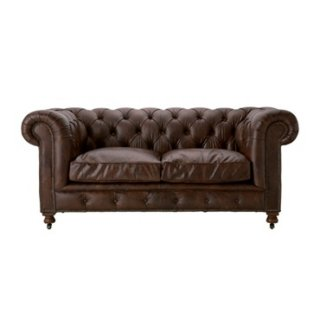 KENSINGTON 2P SOFA BIKER TAN