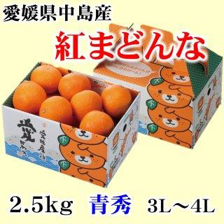 【贈答用】愛媛県オリジナル柑橘「紅まどんな」 赤秀 6〜10玉 約1.5�(M〜2L)  ◆予約商品◆