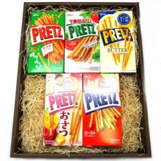 プレゼント ギフト グリコ プリッツ食べ比べ 5種×各2個入 (ギフトセット) (omtmaptsag)