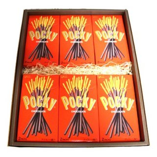 プレゼント ギフト グリコ ポッキー チョコレート 2袋×12個 (ギフトセット K) (omtma0956)