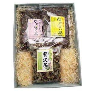 プレゼント ギフト こだわり茶葉 お茶葉 3種 (ギフトセット) (omtma0625)