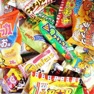 おかしのマーチ 小袋スナック 駄菓子 ヤスイのおつまみ どっさりセット(全66コ入) (omtma0827)