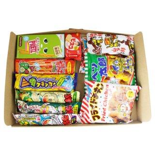 (全国送料無料) おかしのマーチ 駄菓子スナックセット A(10種・計12コ入り) メール便 (omtmb0668)