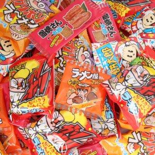 (送料無料)おかしのマーチ 駄菓子・小袋スナックセット W(5種・計65コ入) (omtma5634)