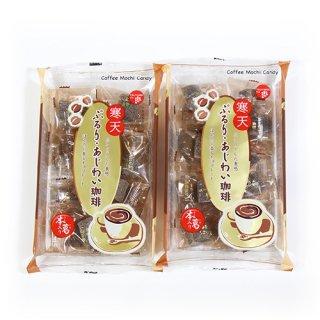(全国送料無料) 津山屋製菓 ぷるり・あじわい珈琲 170g 2コ入り メール便 (4904537002543x2m)
