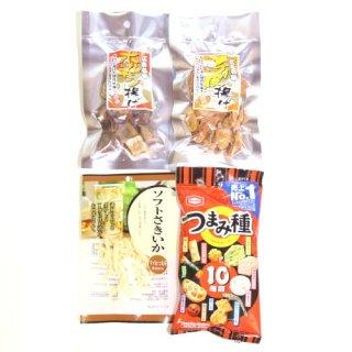 (全国送料無料) 広島名物 ホルモン揚げ入りおつまみセットA おかしのマーチ メール便 (omtmb6227)