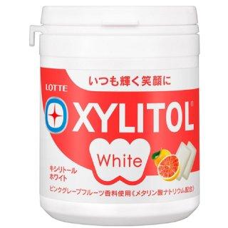 ロッテ キシリトールホワイト<ピンクグレープフルーツ>ファミリーボトル 143g 36コ入り 2020/10/13発売 (4903333282630c)