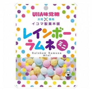UHA味覚糖 レインボーラムネミニ 40g 72コ入り 2020/10/05発売 (4514062274362c)